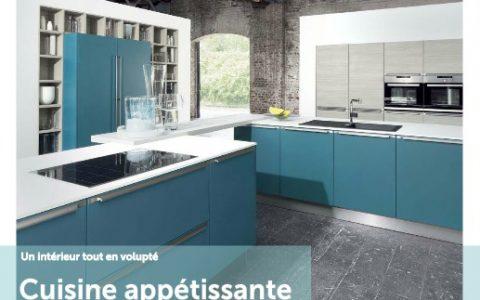 """Magazine """"agenceurs de cuisines.ch"""", parution annuelle. Edité par Der KREIS."""