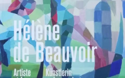 """Catalogue. Exposition """"Hélène de Beauvoir - Artiste et femme engagée"""", du 30.01 au 09.09. 2018. Musée Würth, Erstein (FR)."""